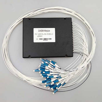 Мультиплексор DWDM 2x32 Channel Mux/Demux ABS box LC