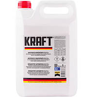 Антифриз Kraft G12/12+ Red концентрат для системи охолодження 5 л (KF104)