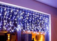 """Уличная светодиодная гирлянда """"Бахрома"""" 120 светодиодов 3м. на 50-70 см белая"""