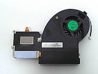 Вентилятор (кулер) для TOSHIBA Qosmio X500, X505, X505-Q887, X505-Q888 (с радиатором)