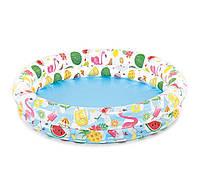 Детский надувной  бассейн Фрукты Intex 59421NP