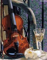 "Картина по номерах ""Скрипка з вином"" (GX24650)"