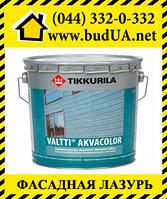 Валтти Акваколор колеруемая фасадная лазурь, ЕР 0,9 л