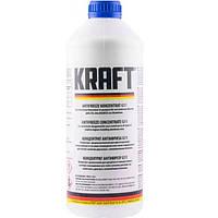 Антифриз Kraft G11 Blue концентрат для системи охолодження 1.5 л (KF101)