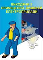 Плакат по охране труда «Уходя из помещения выключи электроприборы!»