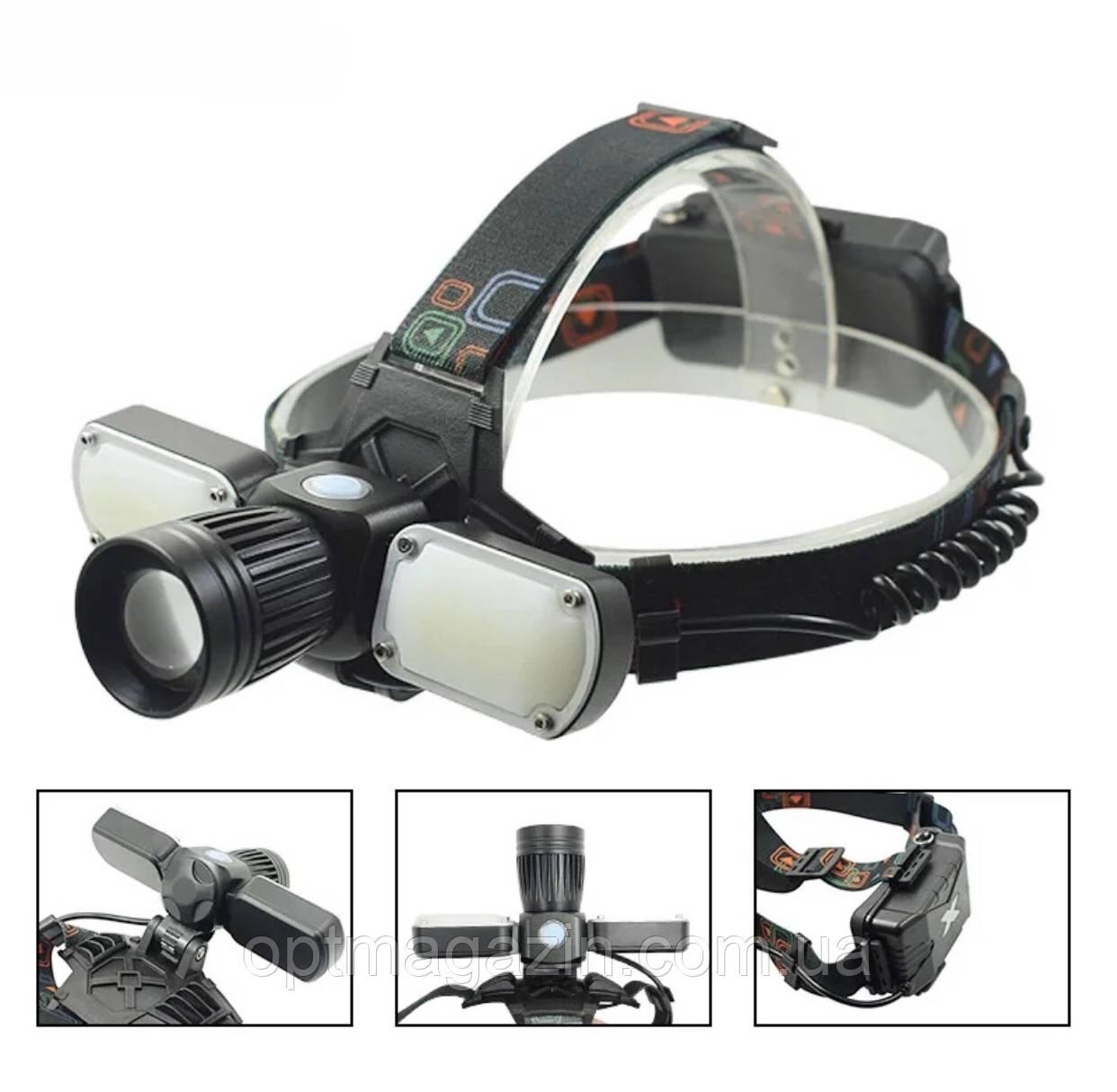 Ліхтар налобний Garden Light 626-T6 +USB кабель