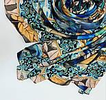 Палантин из вискозы 10716-16, павлопосадский палантин из вискозы, размер 80х200, фото 6