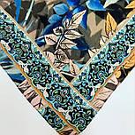 Палантин из вискозы 10716-16, павлопосадский палантин из вискозы, размер 80х200, фото 5