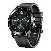 Розумні годинник Lemfo S11 з вимірюванням тиску (Чорний), фото 1