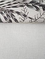 Обои виниловые на флизелине AS creation Metropolitan Stories 2 однотонные рогожка под ткань лен белые, фото 1
