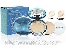 Зволожуюча колагенова преміум пудра зі змінним блоком Enough Collagen Premium Hydro Two-Way Cake SPF 50 PA++