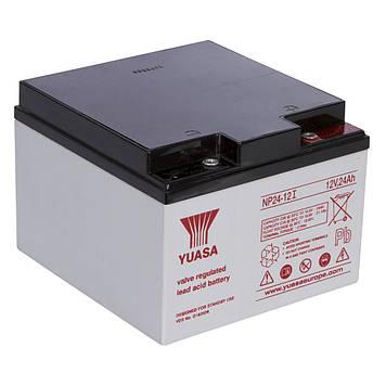 Аккумуляторная Батарея для ИБП Yuasa NP24-12 12V 24Ah (164*173*126)  Q1
