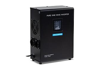 ИБП с правильной синусойдой  Challenger HomeLine 1000W12 ( 700 ВТ),12 вольт под внешний аккумулятор