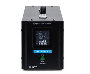 ИБП с правильной синусойдой  ChallengerHomeLine 1000T12(700Вт)12 вольт под внешний аккумулятор, ток