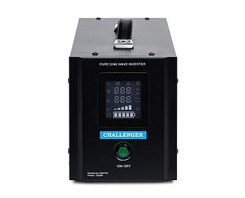 ИБП с правильной синусойдой  ChallengerHomeLine 1500T12(1050Вт)12вольт под внешний аккумулятор, ток