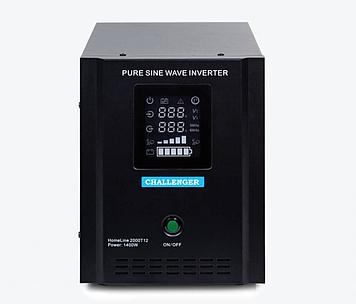 ИБП с правильной синусойдой  ChallengerHomeLine 2000T12(1400Вт)12вольт под внешний аккумулятор, ток