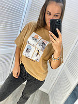 Женская футболка 3852/5 (АХ), фото 2