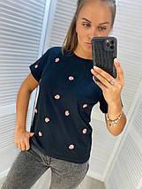 Женская футболка 3852/5 (АХ), фото 3