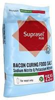 Нитритно-нитратная cоль Suprasel Bacon Curing Plus nitrite and nitrate salt (Дания), упаковка 25 кг