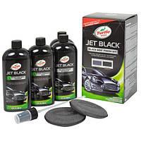 Набор полиролей для авто черного цвета Turtle Wax Black Box Jet Black Finish Kit 4 x 355 мл (52731), фото 1