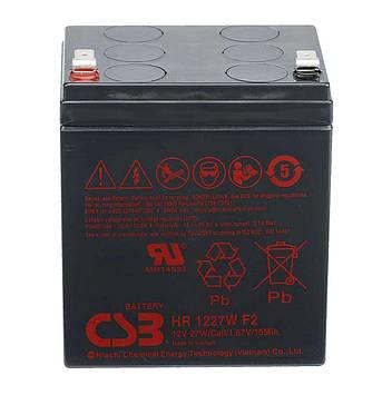 Аккумуляторная батарея CSB HR1227WF2, 12V 6,5Ah  (101х70х94мм)