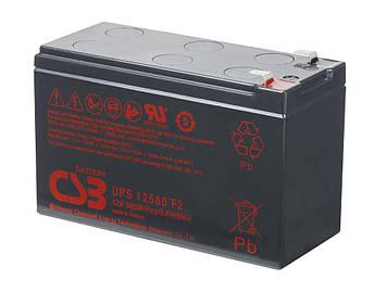 Аккумуляторная батарея CSB UPS12580, 12V 10,5Ah  (151х65х99мм), Q10