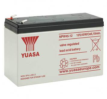 Аккумуляторная батарея для ИБП Yuasa NPW45-12 12V 9 Ah ( 151*65*94 (97,5)) , Q8