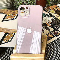Чохол Color-Glass для Iphone 12 Pro бампер з захистом камер Lavender