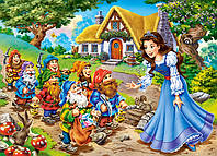 Пазлы Castorland на 120 элементовSNOW WHITE AND THE DWARFS B-13104