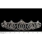 Діадема (корона, тіара) на гребінці, довжина 9,5 см, висота 2,8 см