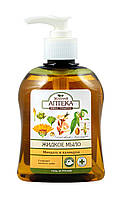 Жидкое мыло Зеленая Аптека Миндаль и календула - 300 мл.