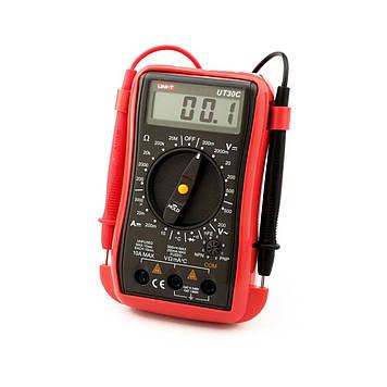 Мультиметр UNIT UT30C Виміру: V, A, R, C