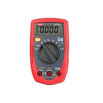 Мультиметр UNIT UT33A Виміру: V, A, R