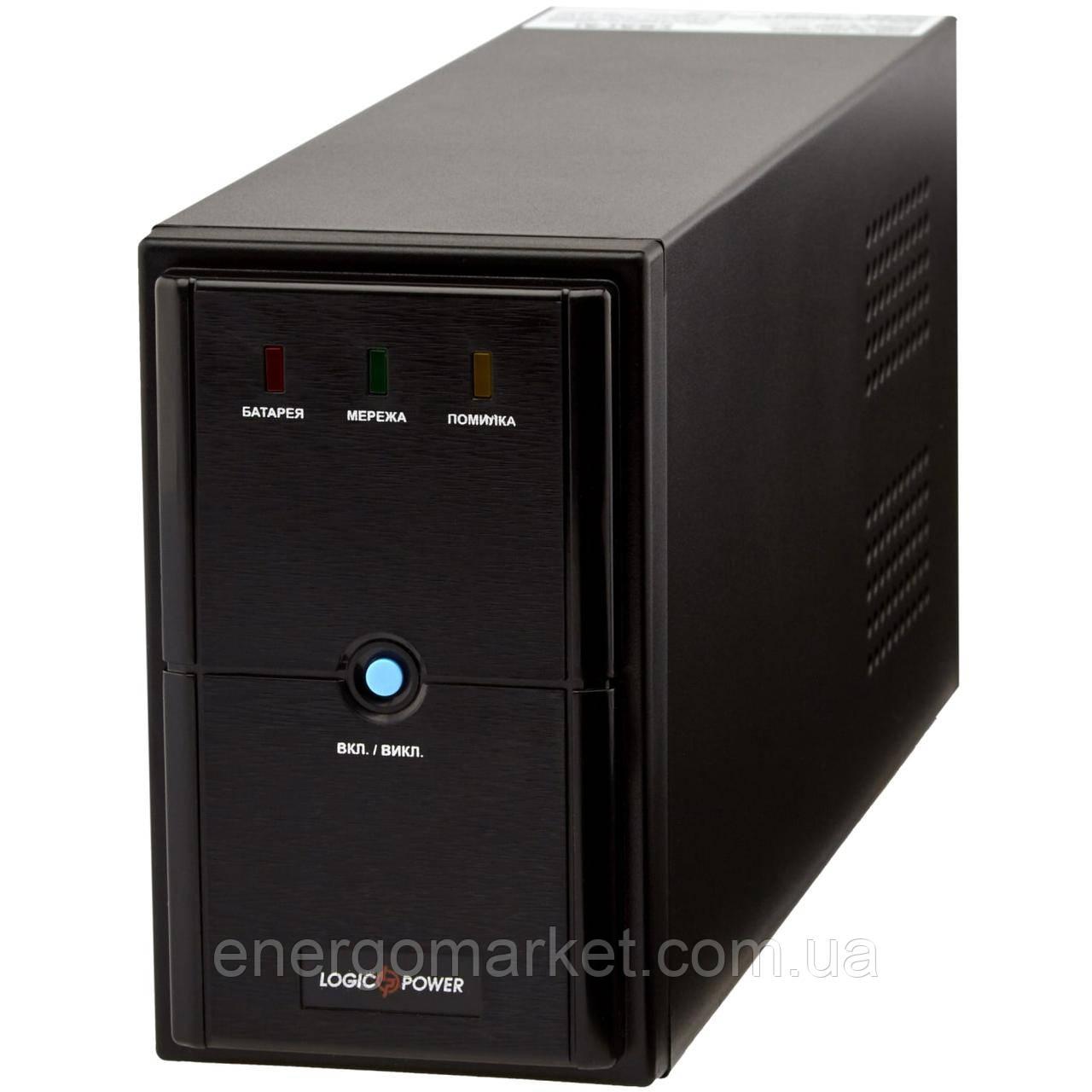 Линейно-интерактивный ИБП Logic Power LPM-625VA (437Вт) металл