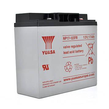 Аккумуляторная Батарея для ИБП Yuasa NP17-12IFR 12V 17Ah (181*76*167)  Q4