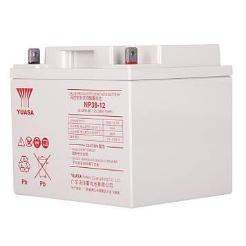 Аккумуляторная Батарея для ИБП Yuasa NP38-12 12V 38Ah (197*165*170)  Q1