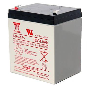 Аккумуляторная Батарея для ИБП Yuasa NP4-12s 12V 4Ah ( 90*70*106) , Q10