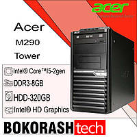 Системний блок Acer M290 / Tower -1155  / i5-2gen / DDR3-8GB / HDD-320GB / Intel HD Graphics (к.00100447-2), фото 1