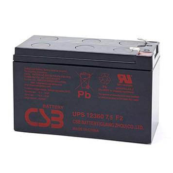 Аккумуляторная батарея CSB UPS12360, 12V7,5Ah  (151х65х94мм)