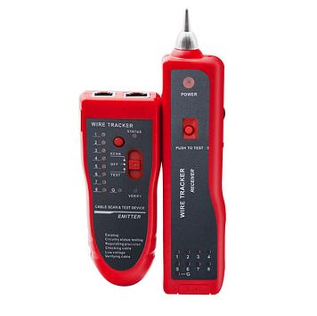 Тестер для пошуку кабелю 801-2 + POE live line finder