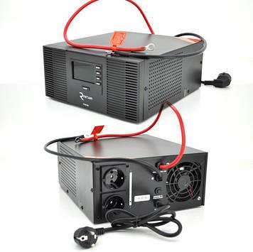 ИБП с правильной синусоидой RITAR RTSWrl-600 (420Вт), 12В с переключнием тока заряда 10A и 20 A (360*330*230)