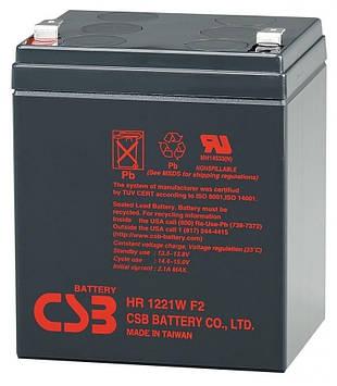 Аккумуляторная батарея CSB HR1221WF2, 12V 5Ah (90 х70х100 (105))  Q10