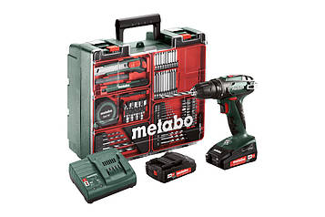 Акумуляторна дриль-шуруповерт Metabo BS 18 Set 602207880