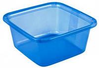 Миска пластиковая квадратная 11 л 358X358X129 мм синяя Curver CR-0125