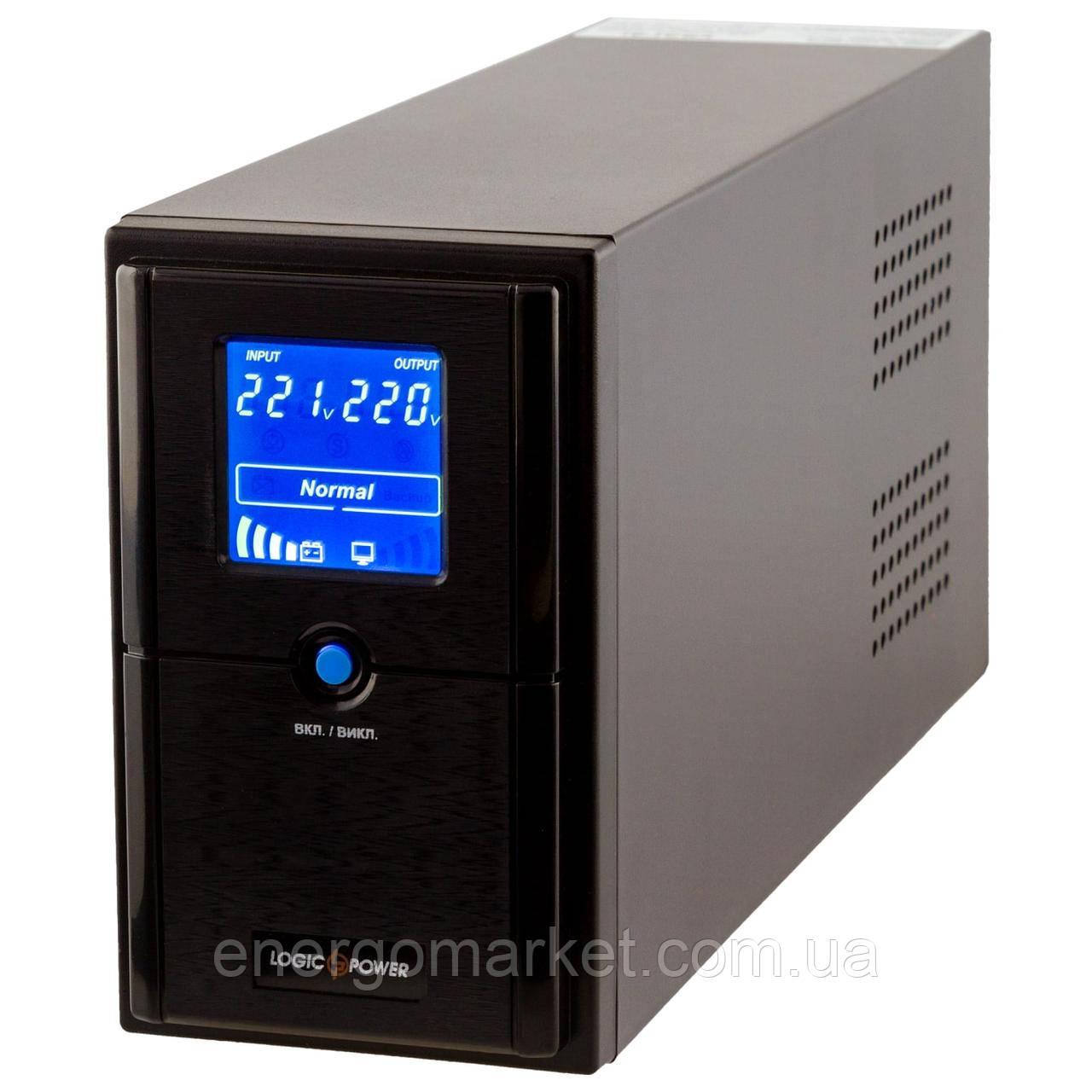 Линейно-интерактивный ИБП Logic Power LPM-L625VA (437Вт) LCD