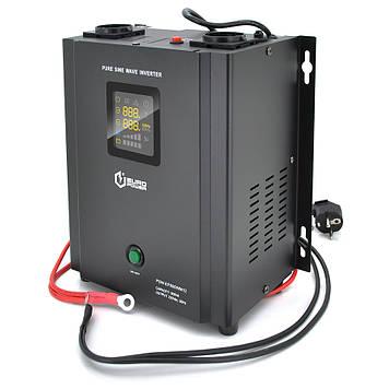 ИБП с правильной синусоидой Europower PSW-EP800WM12 (480 Вт) 5/10А настенный, под внешнюю АКБ 12В , Q2
