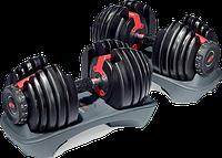 Гантели наборные Bowflex от 5 до 40 кг Гантели, гири, штанги и диски металлические регулируемые
