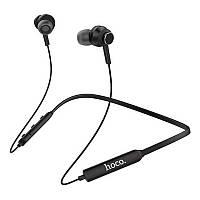 Беспроводные Bluetooth наушники Hoco ES18 вакуумные спортивные черные