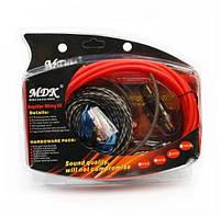 Набор кабелей для автоакустики MDK 8GA (MDK-8GA)