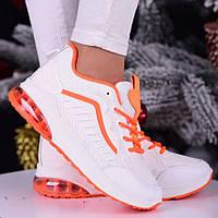 Стильные женские кроссовки белые, демисезон, весна, лето. Всесезонная новинка. Размер 36